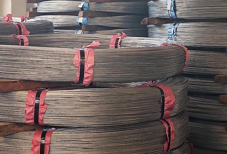 Hot-dip Zinc (zinc-aluminium or zinc-aluminium-magnesium) Coated Steel Wires for Bridge Cables